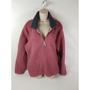 Victorias Secret Pink Sherpa Sweater Large
